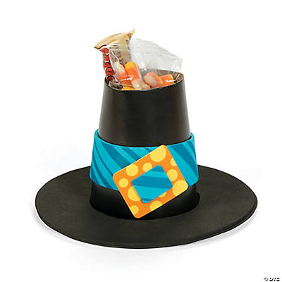 Pilgrim Hat Treat Cup Craft Kit