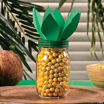 Pineapple Candy Jar Idea