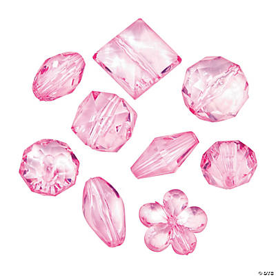 Pink Bead Assortment - 12mm - 15mm