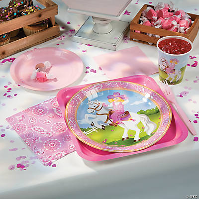 Pink Cowgirl Basic Party Pack