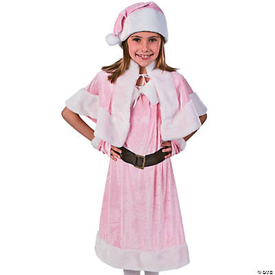 Pink Holiday Miss Girl's Costume