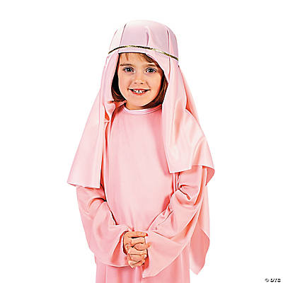 Pink Nativity Child Hat