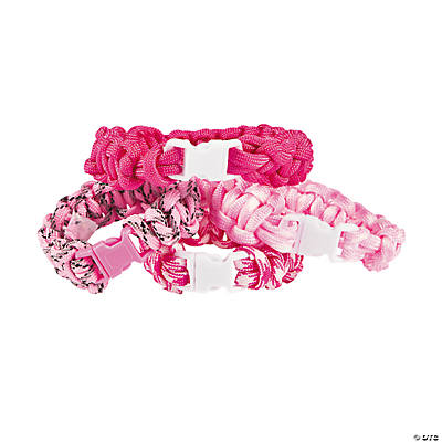 Pink Paracord Bracelet Craft Kit