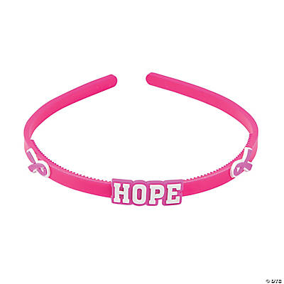 Pink Ribbon Headbands