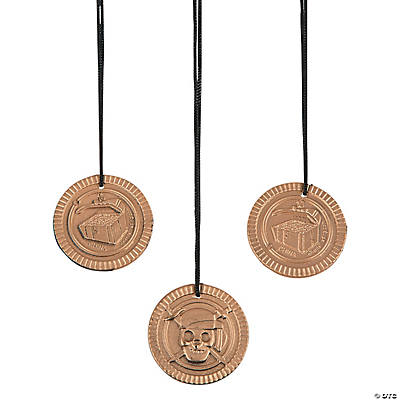 Pirate Coin Necklaces