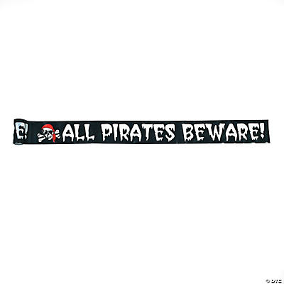 Pirate Decoration Boundary Tape