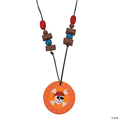Pirate Medallion Necklace Craft Kit