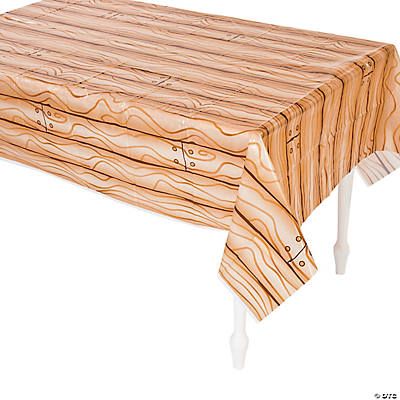 Pirate Ship Deck Plastic Tablecloth