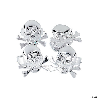 Pirate Skull Rings