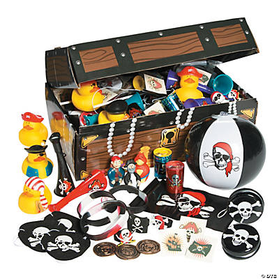 Pirate Treasure Chest Toy Assortment