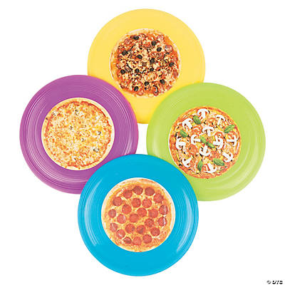 Pizza Mini Flying Discs