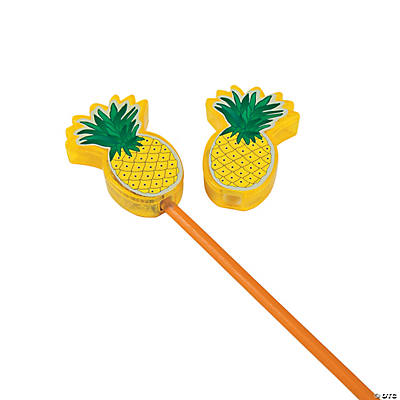 Plastic Pineapple Pencil Sharpeners