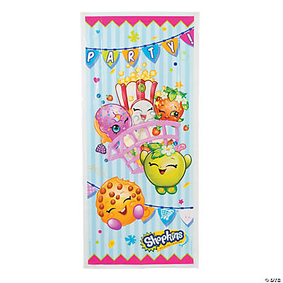 Plastic Shopkins™ Door Cover