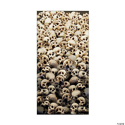 Plastic Skulls Door Cover