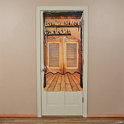 Plastic Western Saloon Door Cover : saloon door - pezcame.com