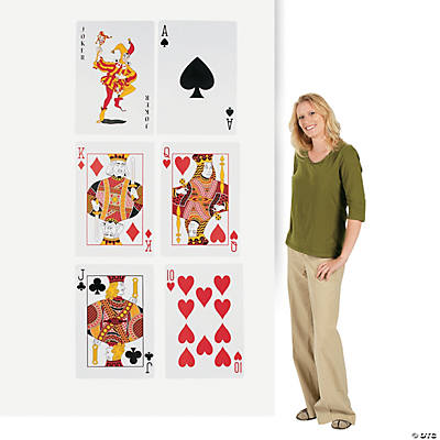 Playing Card Cutouts