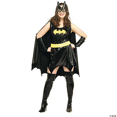 Plus Size Adult Woman's Batgirl Costume