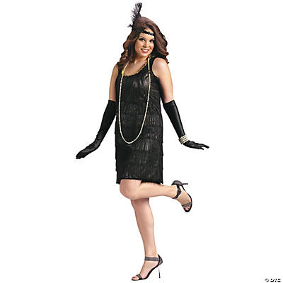 Plus Size Flapper Costume For Women