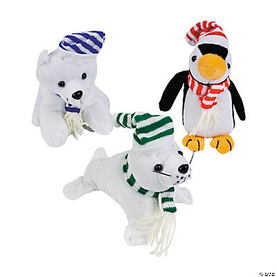 Plush Arctic Animals