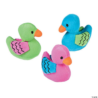 Plush Bright Mini Duckies