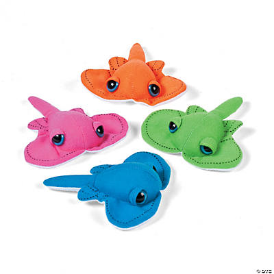 Plush Bright Stingrays