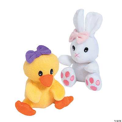 Plush Bunny & Chick Assortment