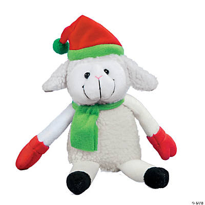 Plush Christmas Lamb