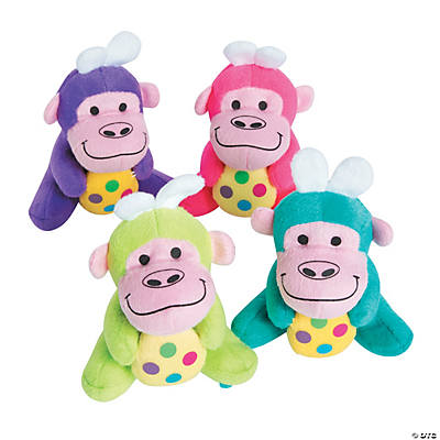 Plush Easter Gorillas