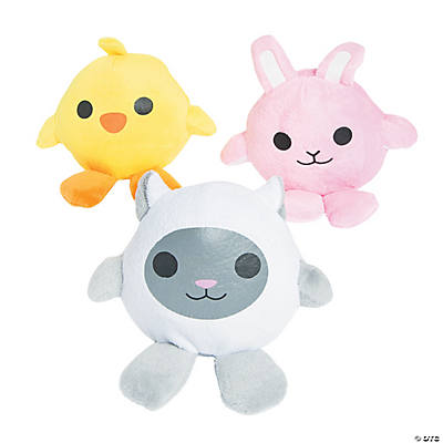 Plush Egg Body Toys