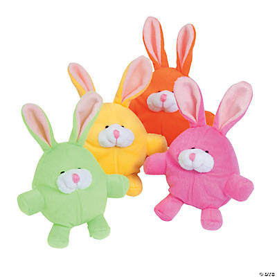 Plush Egg-Shaped Bunnies
