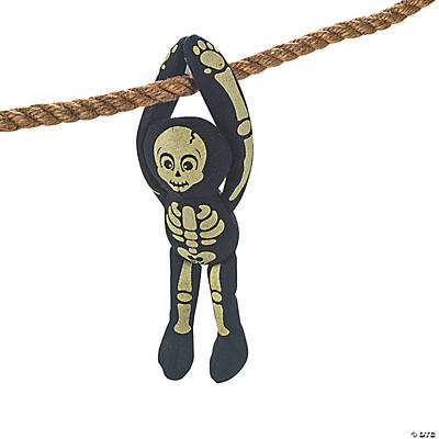Plush Glow-in-the-Dark Long Arm Skeleton