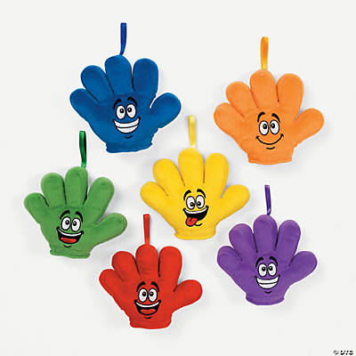 Plush High Five Hands with Hangers