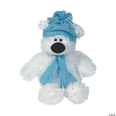 Plush Large Holiday Polar Bear