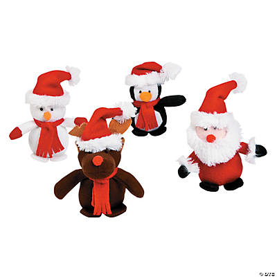 Plush Mini Christmas Characters