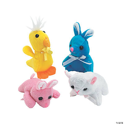 Plush Mini Easter Animals