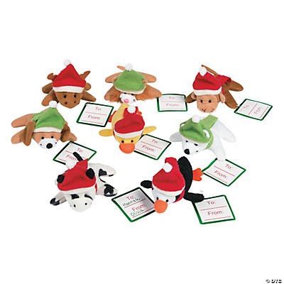 Plush Mini Holiday Animals