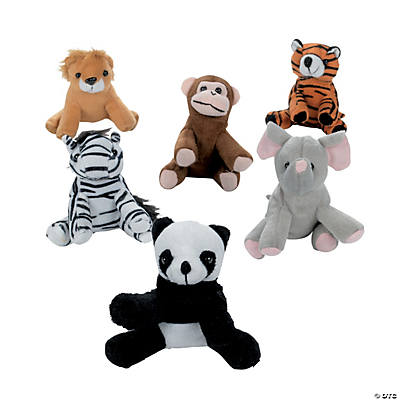 Plush Mini Zoo Animals