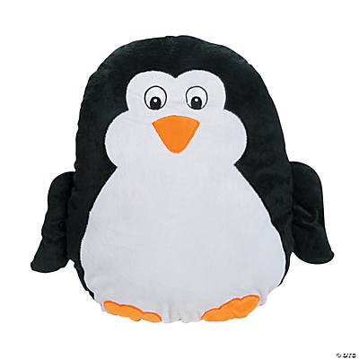 Plush Penguin Pillow