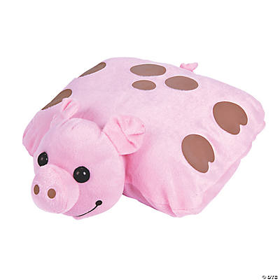 Plush Pig Pillow Friends
