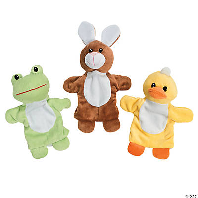 Plush Spring Hand Puppets