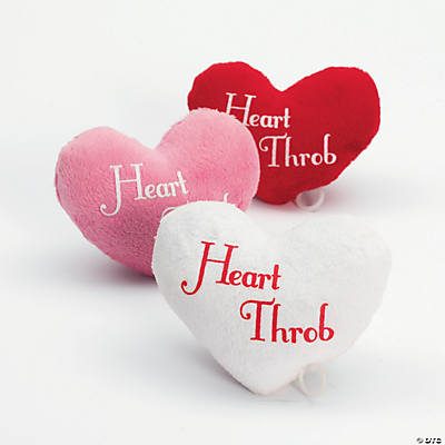 Plush Throbbing Hearts