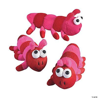Plush Valentine Caterpillars