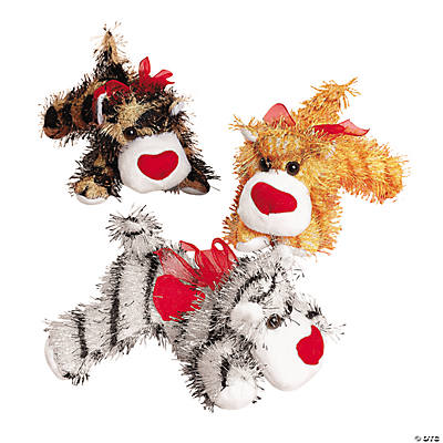 Plush Valentine Jungle Cats