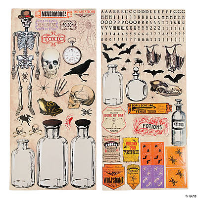 Poison Sticker Sheets