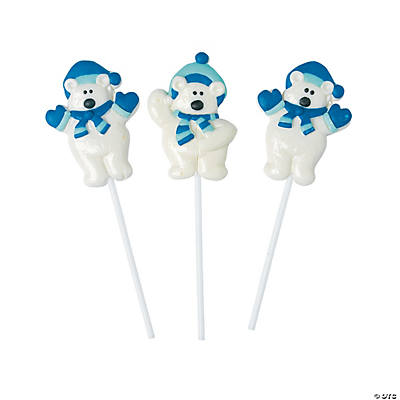 Polar Bear Frosted Suckers