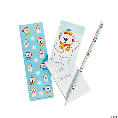 Polar Bear Stationery Sets