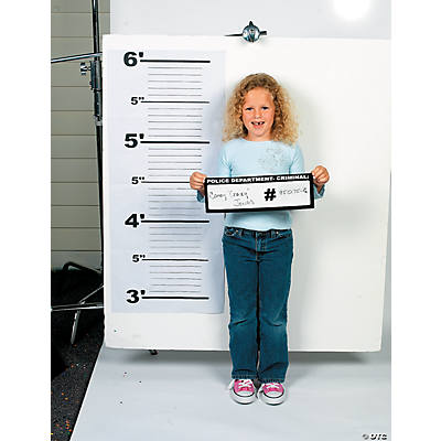 Police Line Up And Dry Erase Board Set