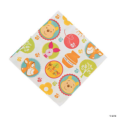 "Pooh ""Little Hunny"" Baby Shower Luncheon Napkins"