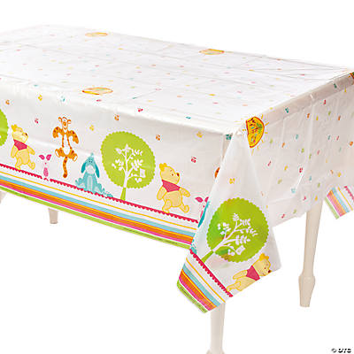 "Pooh ""Little Hunny"" Baby Shower Table Cover"
