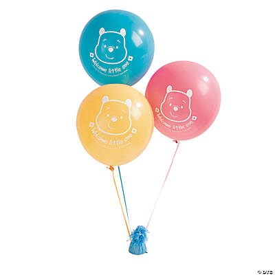 "Pooh ""Little Hunny"" Latex Balloons"